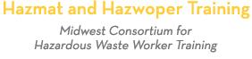 University of Minnesota Hazardous Materials and Hazwoper Training